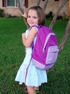 first week of school —  primer semana de clases