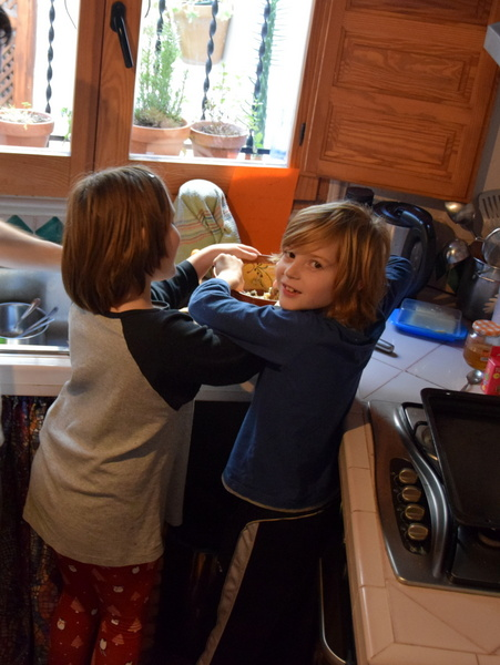 caza feliz: día veintidós — galletas
