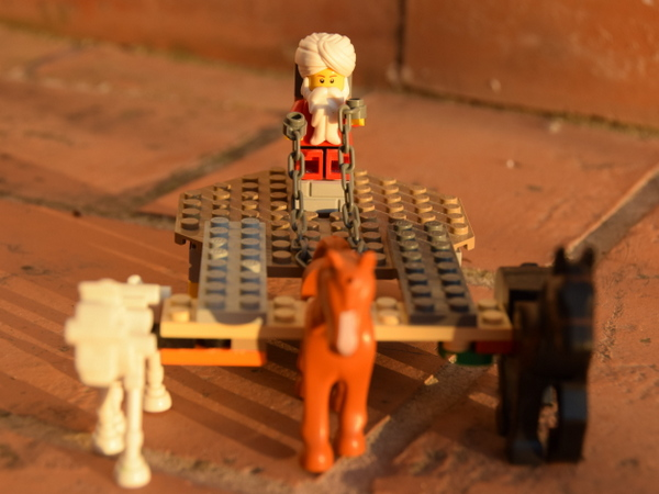 caza feliz: día veinticinco — Lego
